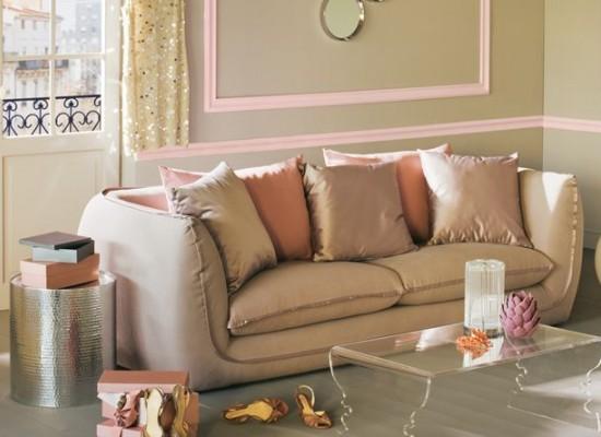 Romantická pohovka v italském stylu