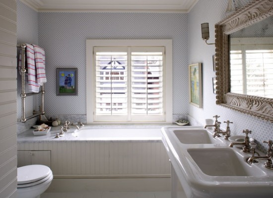 Kouzlo klasick koupelny styl a interier Bathroom design winchester uk