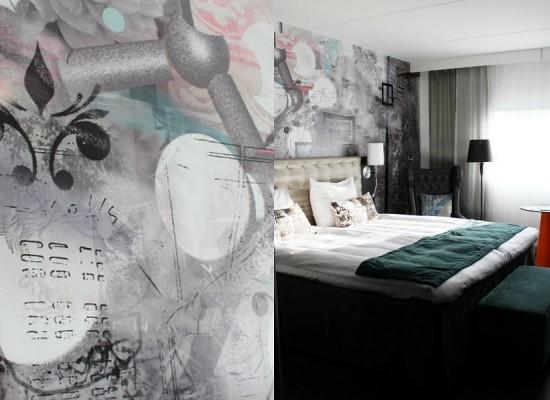 Graffity v ložnici