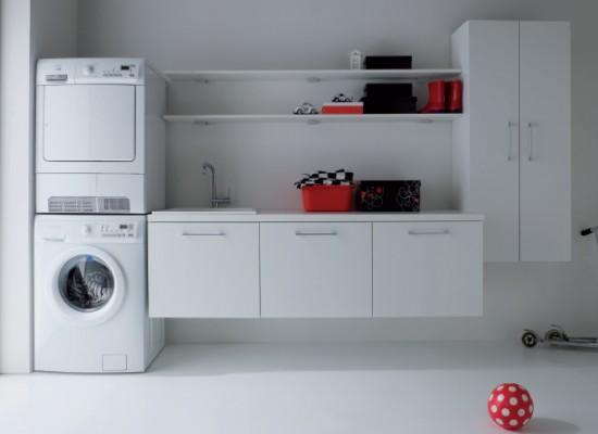 Pr delna v italsk m stylu styl a interier - Arredo per lavanderia di casa ...