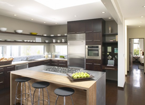 Samostatn stojc kuchysk pult pro modern kuchyni
