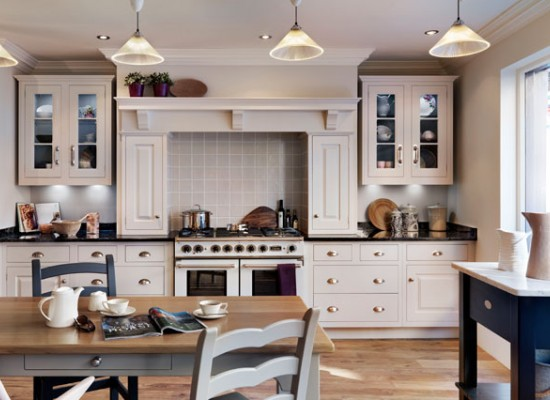 Kuchyň ve starém stylu