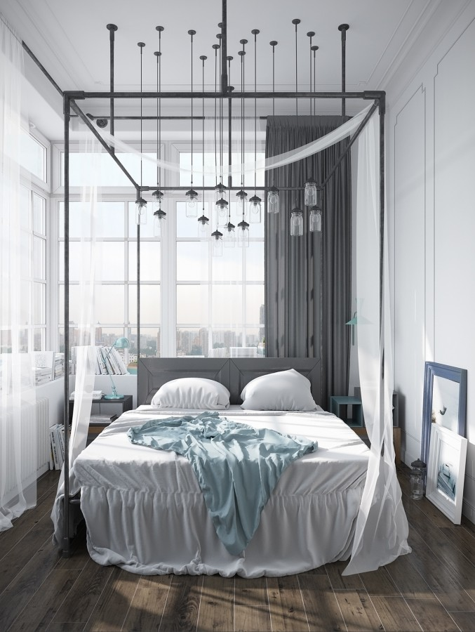 Osvětlení k posteli