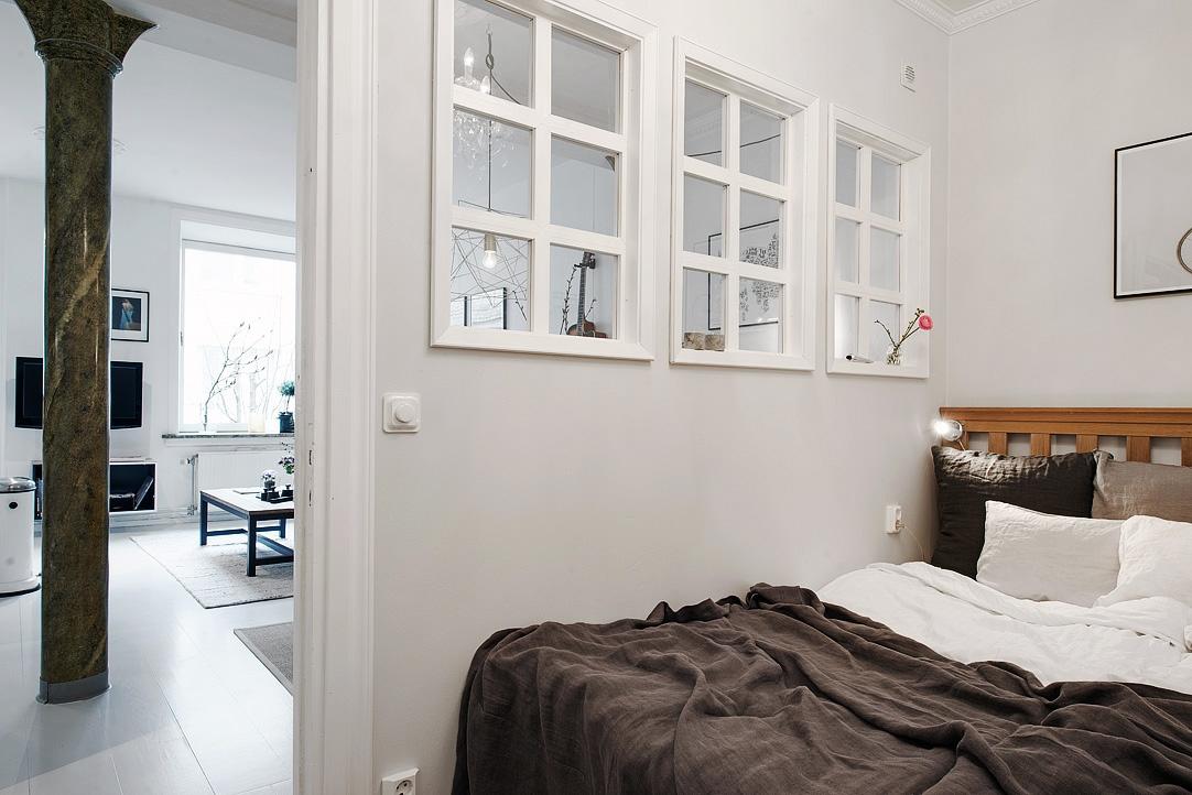 Velk bydlen v mal garsonce styl a interier - Fotos de lofts decorados ...