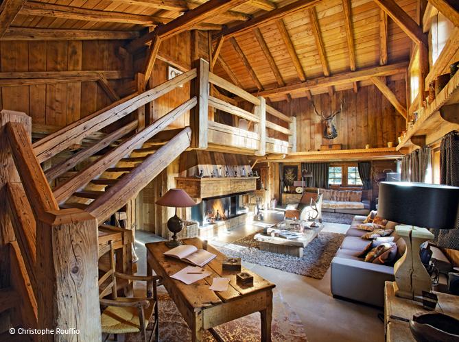 decoracion de interiores cabañas rusticas : decoracion de interiores cabañas rusticas:Luxusní horská chalupa