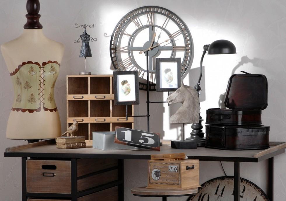 Hodiny v industri ln m stylu styl a interier - Decoration interieur industriel ...